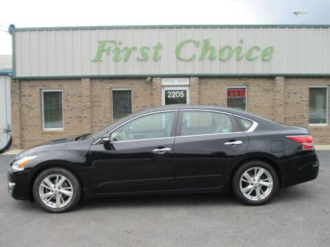 2015 Nissan Altima for sale at First Choice Auto in Greenville SC