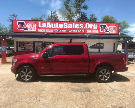 2017 Ford F-150 for sale at LA Auto Sales in Monroe LA