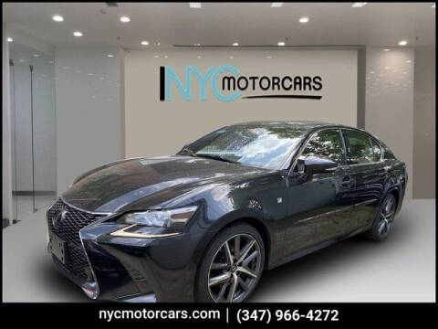 2018 Lexus GS 350 for sale at NYC Motorcars in Freeport NY