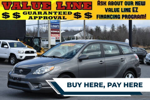 2005 Toyota Matrix for sale at Broadway Garage of Columbia County Inc. in Hudson NY