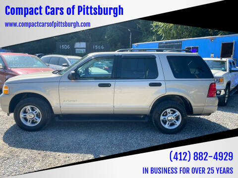 2004 Ford Explorer for sale at Compact Cars of Pittsburgh in Pittsburgh PA