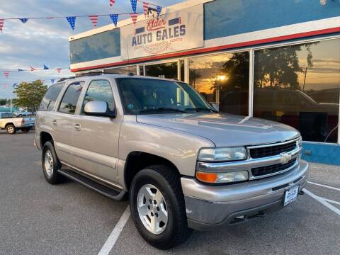 2004 Chevrolet Tahoe for sale at ELDER AUTO SALES LLC in Coeur D'Alene ID