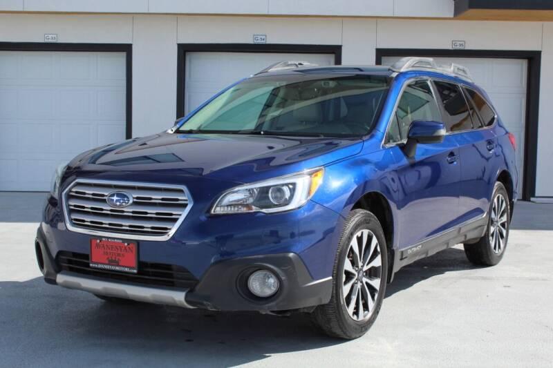 2016 Subaru Outback for sale at Avanesyan Motors in Orem UT