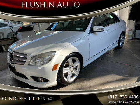 2010 Mercedes-Benz C-Class for sale at FLUSHIN AUTO in Flushing NY
