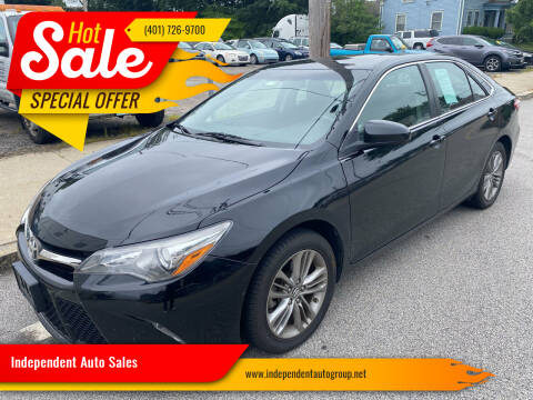 2017 Toyota Camry for sale at Independent Auto Sales in Pawtucket RI