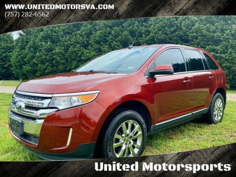 2014 Ford Edge for sale at United Motorsports in Virginia Beach VA