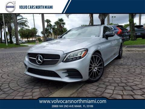 2019 Mercedes-Benz C-Class for sale at Volvo Cars North Miami in Miami FL