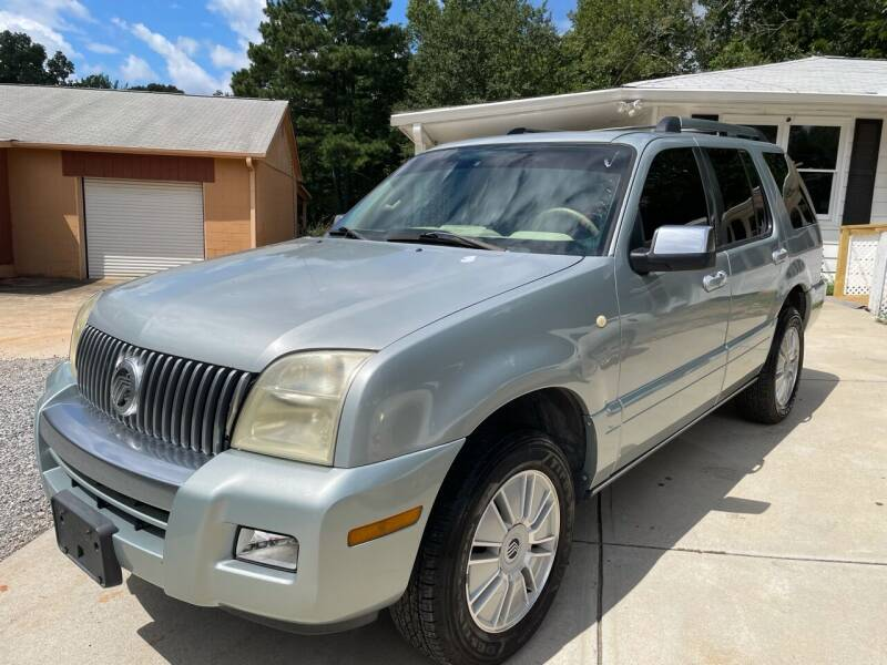 2006 Mercury Mountaineer for sale at Efficiency Auto Buyers in Milton GA
