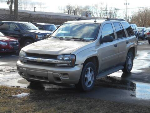 2007 Chevrolet TrailBlazer for sale at MT MORRIS AUTO SALES INC in Mount Morris MI
