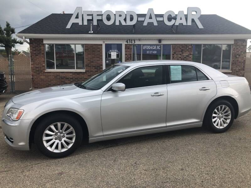 2012 Chrysler 300 for sale at Afford-A-Car in Moraine OH