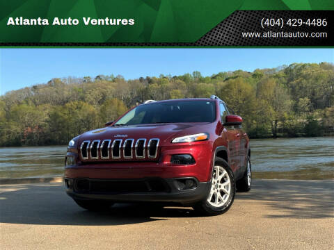 2015 Jeep Cherokee for sale at Atlanta Auto Ventures in Roswell GA