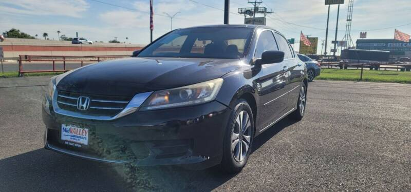 2014 Honda Accord for sale at Mid Valley Motors in La Feria TX