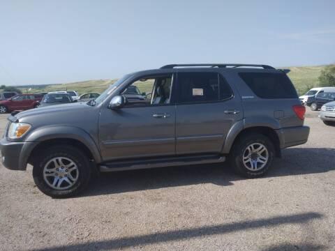 2007 Toyota Sequoia for sale at PYRAMID MOTORS - Pueblo Lot in Pueblo CO