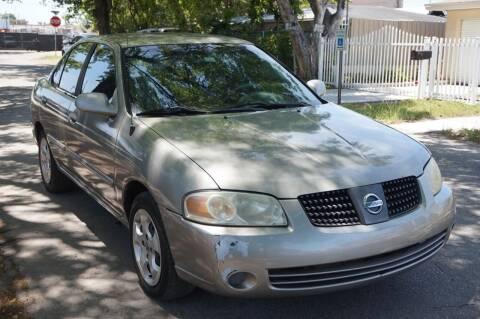 2005 Nissan Sentra for sale at SUPER DEAL MOTORS 441 in Hollywood FL