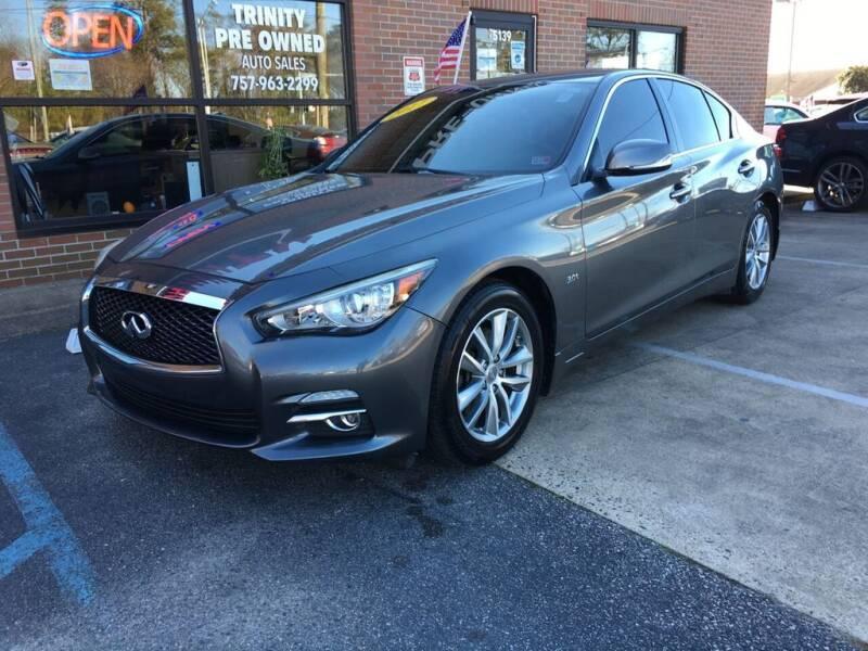 2017 Infiniti Q50 for sale at Bankruptcy Car Financing in Norfolk VA