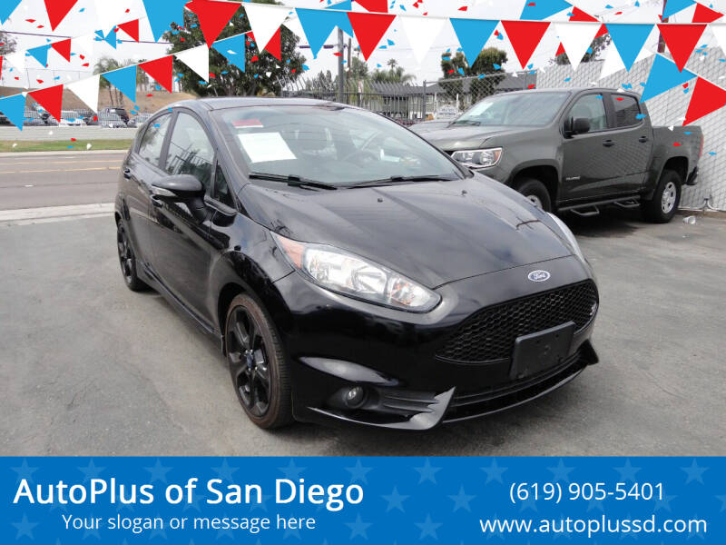 2017 Ford Fiesta for sale at AutoPlus of San Diego in Spring Valley CA