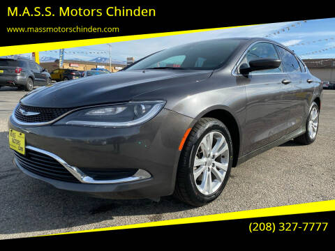 2015 Chrysler 200 for sale at M.A.S.S. Motors Chinden in Garden City ID