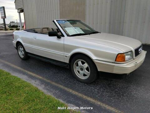 1994 Audi Cabriolet for sale at Matt Hagen Motors in Newport NC