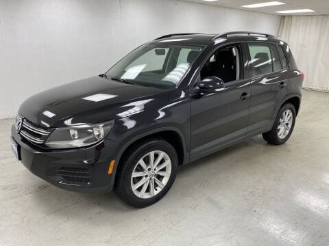 2017 Volkswagen Tiguan for sale at Kerns Ford Lincoln in Celina OH
