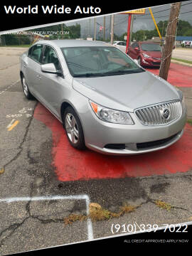 2010 Buick LaCrosse for sale at World Wide Auto in Fayetteville NC