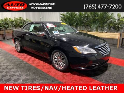 2011 Chrysler 200 Convertible for sale at Auto Express in Lafayette IN