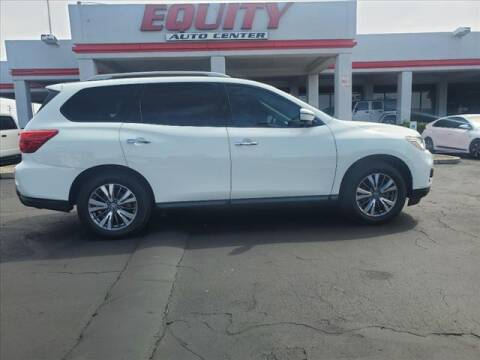 2018 Nissan Pathfinder for sale at EQUITY AUTO CENTER in Phoenix AZ