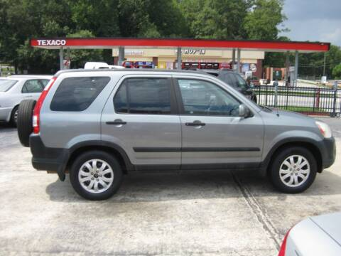 2006 Honda CR-V for sale at LAKE CITY AUTO SALES in Forest Park GA
