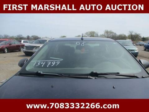 2008 Pontiac G6 for sale at First Marshall Auto Auction in Harvey IL