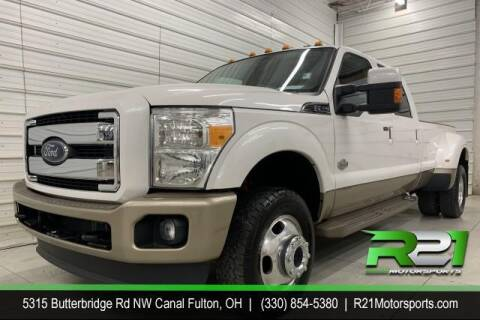2013 Ford F-350 Super Duty for sale at Route 21 Auto Sales in Canal Fulton OH