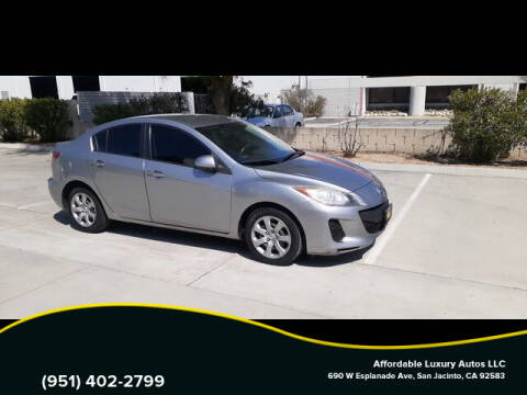 2013 Mazda MAZDA3 for sale at Affordable Luxury Autos LLC in San Jacinto CA