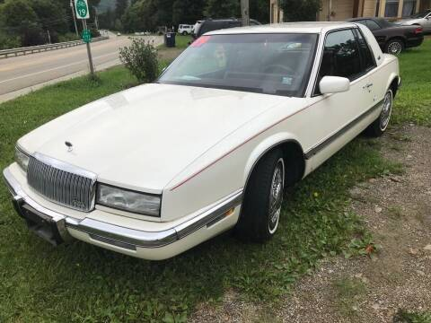 1989 Buick Riviera for sale at Richard C Peck Auto Sales in Wellsville NY