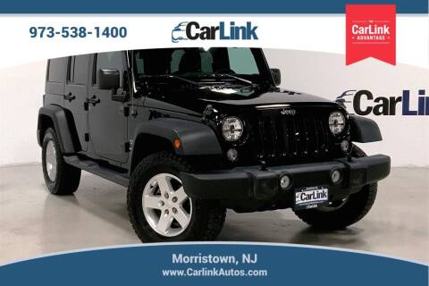 2015 Jeep Wrangler Unlimited for sale at CarLink in Morristown NJ