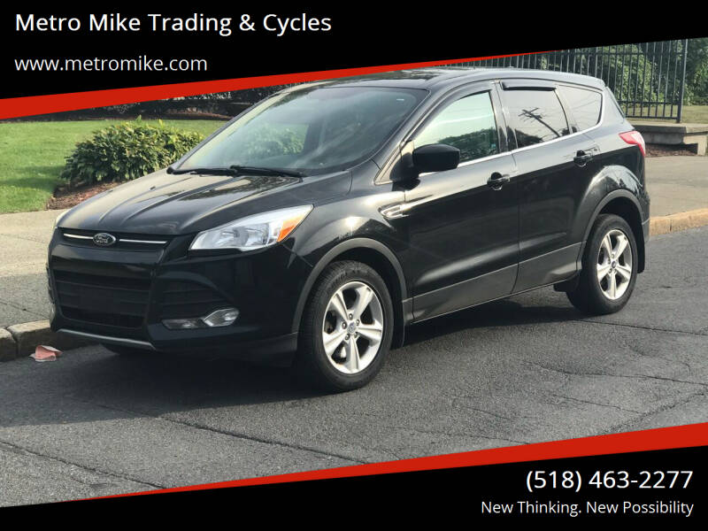 2013 Ford Escape for sale at Metro Mike Trading & Cycles in Albany NY