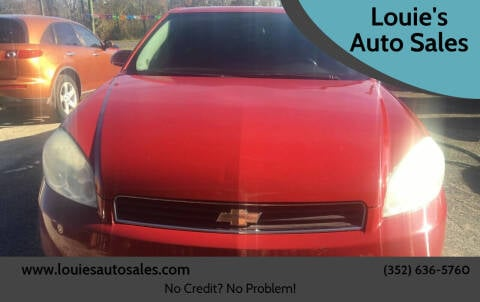 2008 Chevrolet Impala for sale at Louie's Auto Sales in Leesburg FL