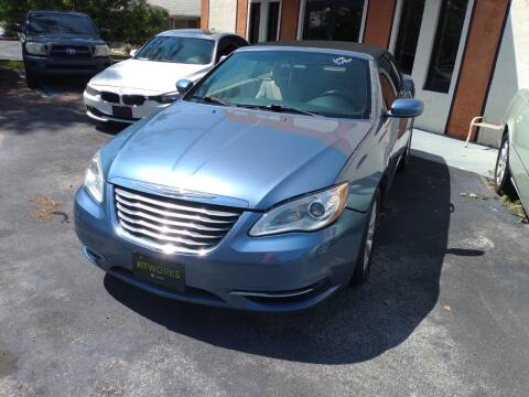 2011 Chrysler 200 Convertible for sale at LAND & SEA BROKERS INC in Pompano Beach FL