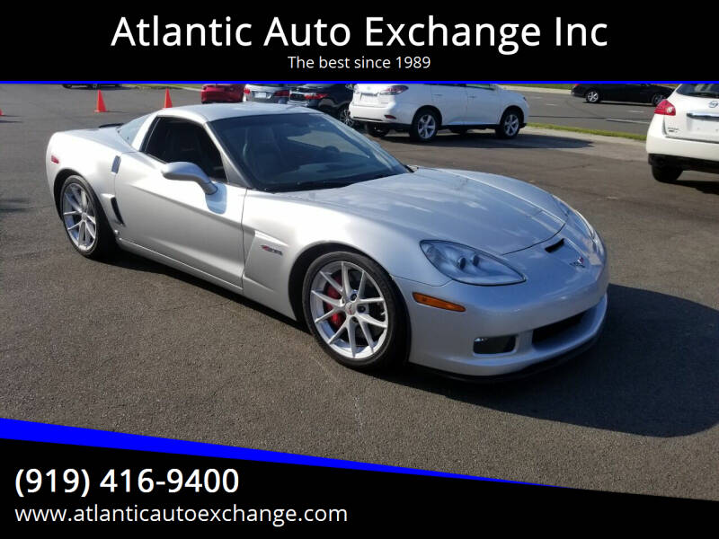 2009 Chevrolet Corvette for sale at Atlantic Auto Exchange Inc in Durham NC