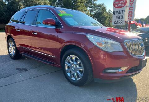 2013 Buick Enclave for sale at VSA MotorCars in Cypress TX