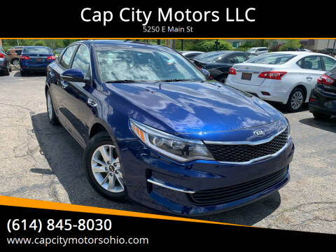 2018 Kia Optima for sale at Cap City Motors LLC in Columbus OH