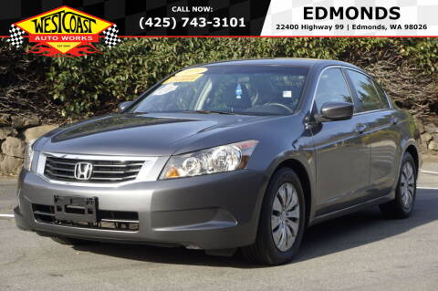 2009 Honda Accord for sale at West Coast Auto Works in Edmonds WA