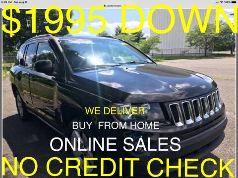 2014 Jeep Compass for sale at Cooks Motors in Westampton NJ