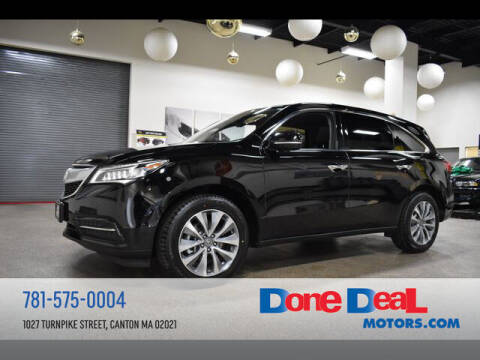 2014 Acura MDX for sale at DONE DEAL MOTORS in Canton MA