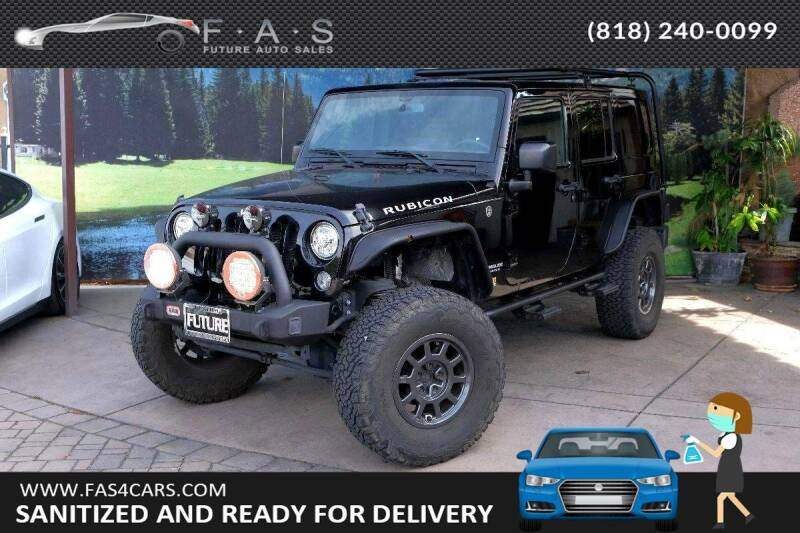 2017 Jeep Wrangler Unlimited for sale in Glendale, CA