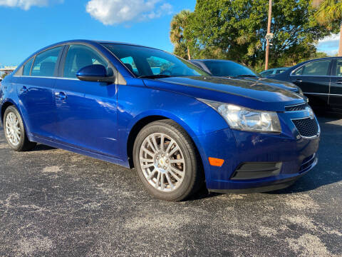 2012 Chevrolet Cruze for sale at Coastal Auto Ranch, Inc. in Port Saint Lucie FL
