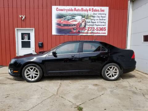 2012 Ford Fusion for sale at Countryside Auto Body & Sales, Inc in Gary SD