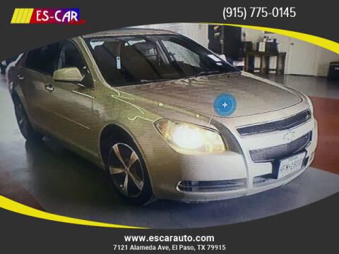 2012 Chevrolet Malibu for sale at Escar Auto in El Paso TX
