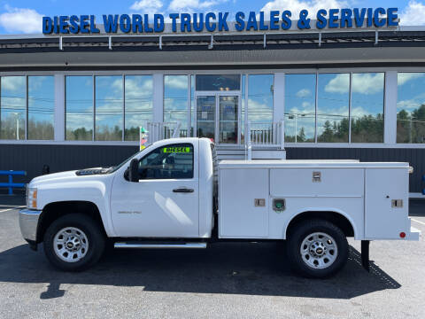 2014 Chevrolet Silverado 3500HD for sale at Diesel World Truck Sales in Plaistow NH