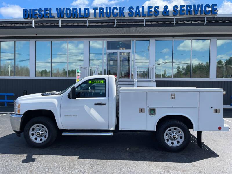 2014 Chevrolet Silverado 3500HD for sale at Diesel World Truck Sales in Plaistow NH