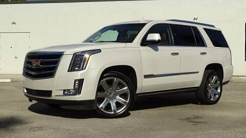 2017 Cadillac Escalade for sale at MG Auto Center LP in Lake Park FL