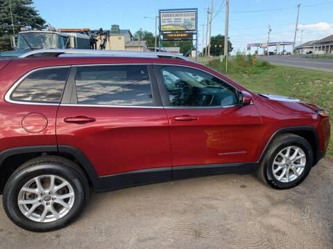 2015 Jeep Cherokee for sale at CHUCKS AUTO SERVICE LLC in Sturgis MI