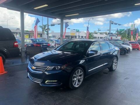 2018 Chevrolet Impala for sale at American Auto Sales in Hialeah FL